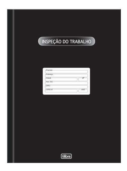Livro Inspeção Do Trabalho Com 50 Fls 123536 Tilibra 07313