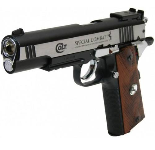 Pistola Co2 Colt Special Combat Umarex Bw.