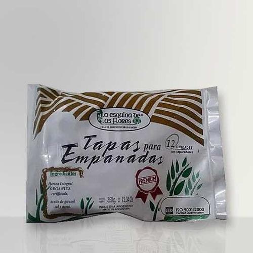 Tapas Empanadas - La Esquina De Las Flores - 18 Cm X 12 Unid