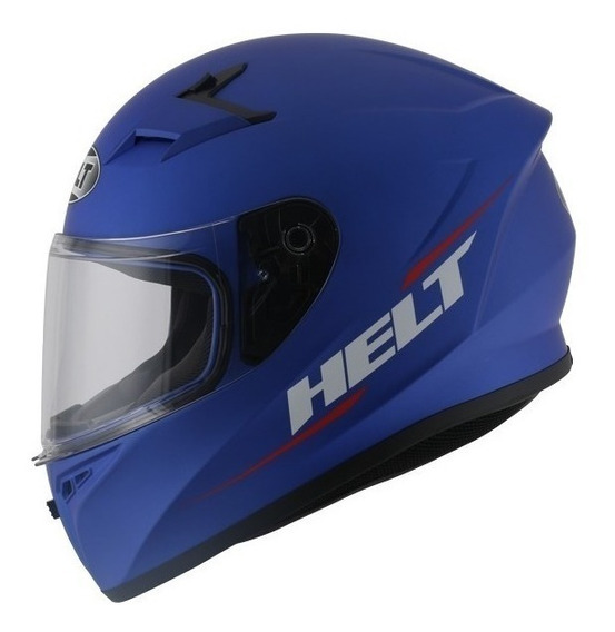 Capacete Modelo Polar N°62 Cor Azul Helt Gjb