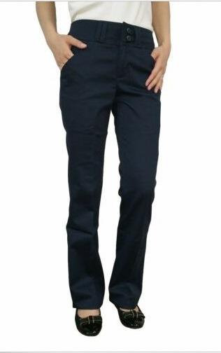 Pantalon Dickies Dama Con Bolsas Atrás Y Adelante Color Azul
