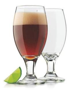 Set 6 Copas Cervecera Belgian Vidrio 436 Ml Libbey