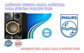 Uma Caixa Acústica Para System Fx50 Philips Nova Original
