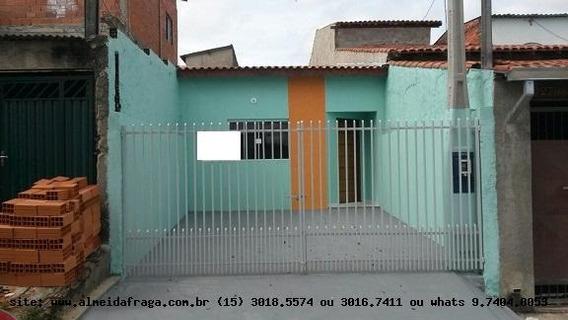 Casa Para Venda Em Sorocaba, Jardim Monterrey, 2 Dormitórios, 1 Suíte, 2 Banheiros, 1 Vaga - 1197
