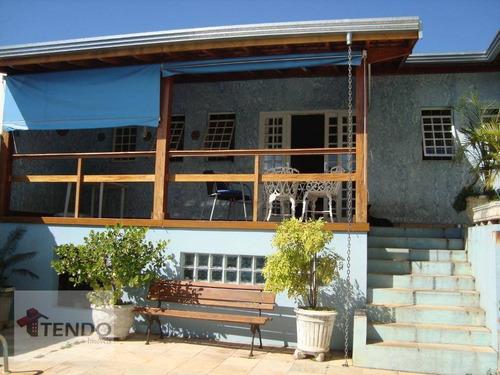Imagem 1 de 15 de Casa Com 3 Dormitórios À Venda, 250 M² Por R$ 850.000,00 - Parque São Lourenço - Indaiatuba/sp - Ca0158