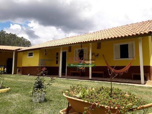 Imagem 1 de 6 de Chácara Com 3 Dormitórios À Venda, 3000 M² Por R$ 300.000,00 - Itapeva - Paraibuna/sp - Ch0674