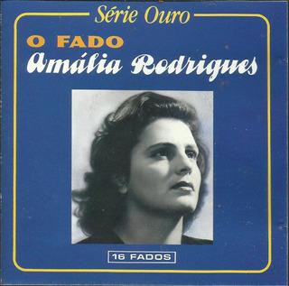 Amalia Rodriguez - O Fado (como Nuevo Importado De Portugal)