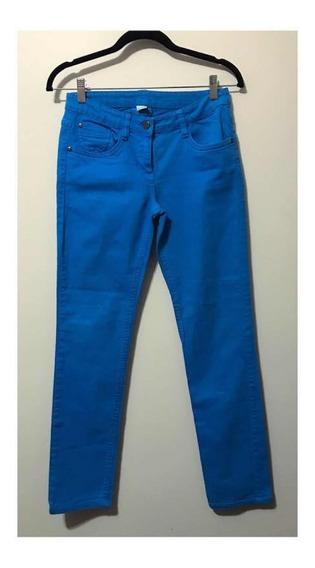 Calça Jeans Azul Royal Alinne Da S. Oliver Alemã 38