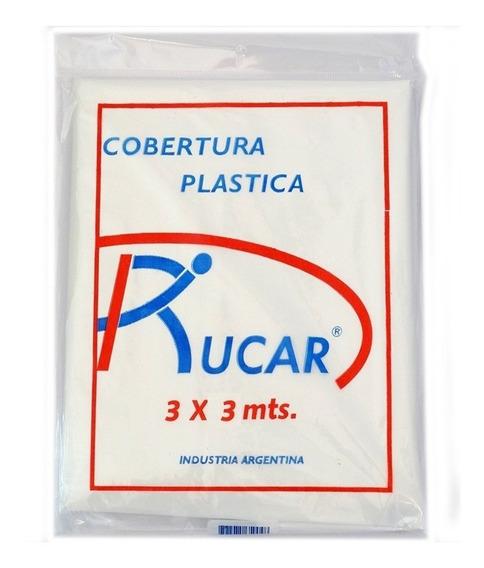 Cobertor Plastico Multiuso Transparente 3x3 Rucar Pintumm