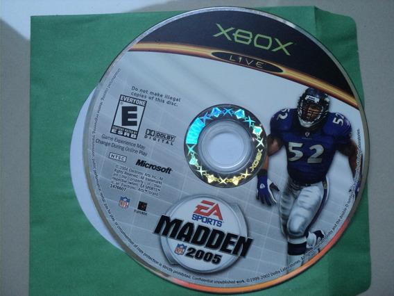Jogo Xbox Original - Madden 2005
