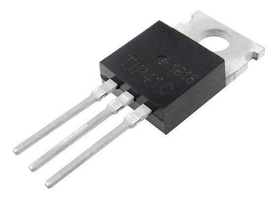 Pack X 10 Unidades Tip 41c Tip41c Tip 41 Transistor To220