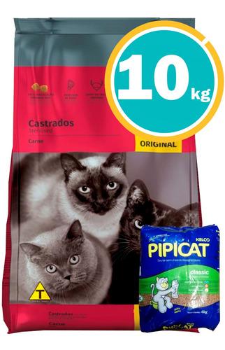 Three Cats Gatos Familia Original 10 Kg + Obsequio Y Envío