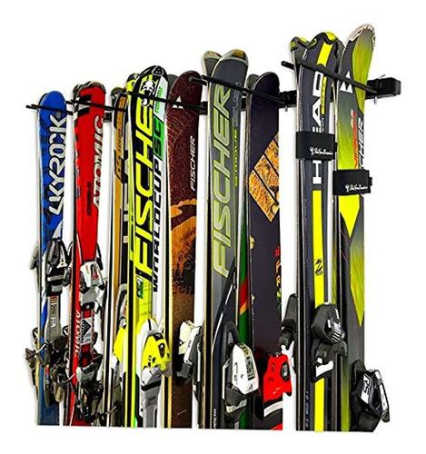 Imagen 1 de 6 de Storeyourboard Omni Portaescaleras Para Pared De Esqui Y Sn