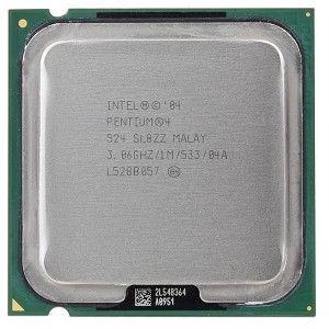 Processador Intel Pentium 4 524 3.06ghz 1mb Cache Kit C/7