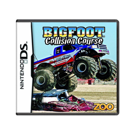 Bigfoot Collision Course Ds Mídia Física Pronta Entrega