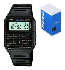 Reloj Casio De Calculadora Ca53 Resistente Al Agua