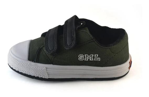 Zapatilla Niños Abrojo Goma Brillo Niñas Duncan Small Shoes