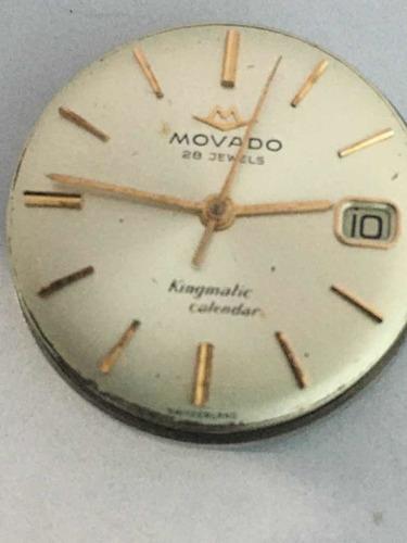 Movado Kindmatic Maquina De Relogio De Pulso Automatica.