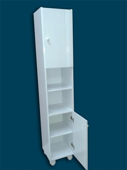 Tolva Anaquel Mueble Baño Placard Laqueado 1,60 X 30 X 30