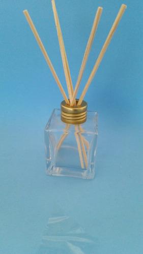 Imagem 1 de 5 de 20 Frasco Vidro-cubo Para Aromatizador 100ml+20 Pet De 100ml