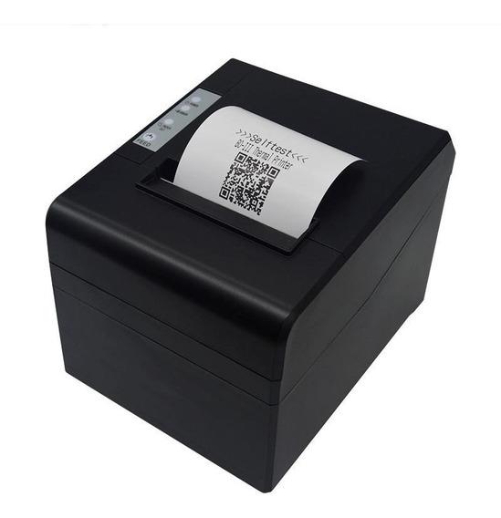 Impressora 80mm Termica De Cupom Com Guilhotina Usb Qr Code