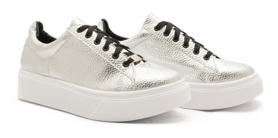 Zapatilla Mujer Sneaker Moda Urbana Plataforma P 3000-1-2