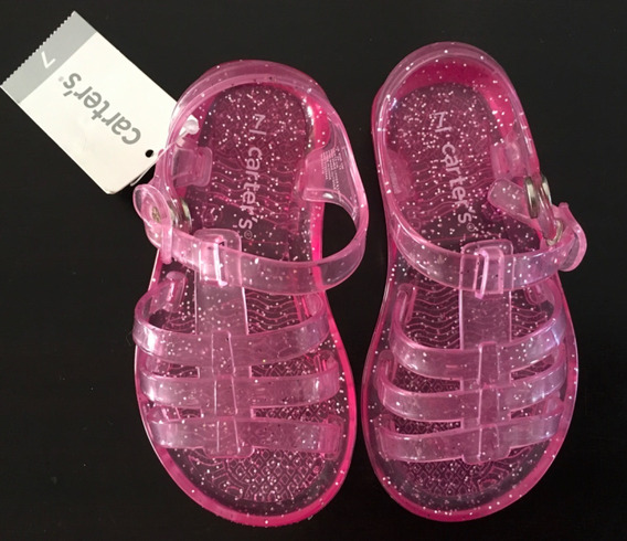 Carter´s Sandalias Glitter Zapatos Ojotas Gap Lv Importados