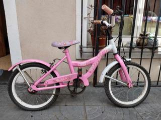 Bicicleta Dolphin Rodado 16 Para Niño/niña Excelente Estado
