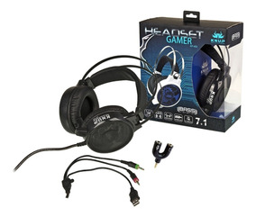 Fone Headset Gaming-ps4,pc,tablet,xbox-bass Vibration 7.1