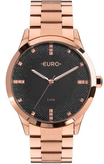 Relógio Euro Feminino Glitter Fever Eu2036yog/4c
