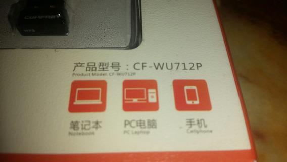 Adaptador Wifi Usb 802.11n Nano Comfast Cf-wu712p