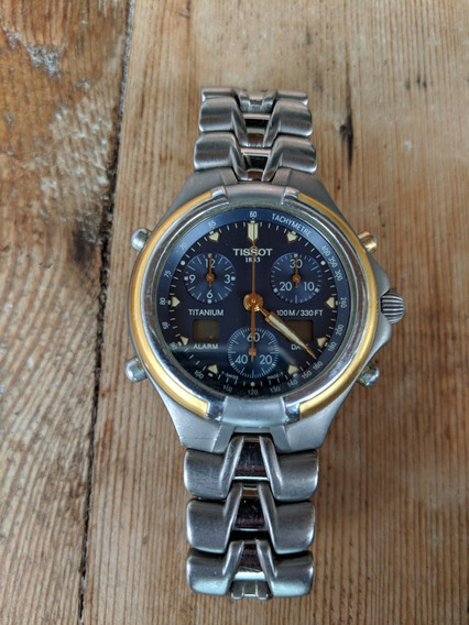 Relógio Tissot T670 Titanium - Case Titânio Vidro De Safira