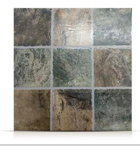 Cerámica Lourdes 35x35 Porfido Verde 1° Calidad - Ceramisur