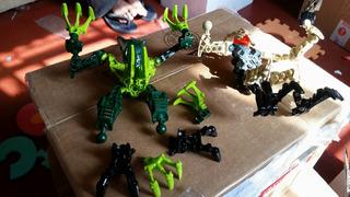 Lego Bionicle Original Para Custom Incompleto