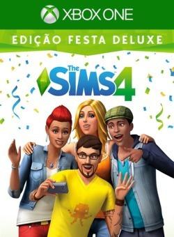 Jogo The Sims 4 Xbox One Midia Digital Edição Festa Deluxe