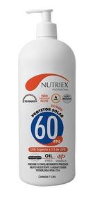 Protetor Solar Fps 60 1lt 1/3 Uva Nutriex