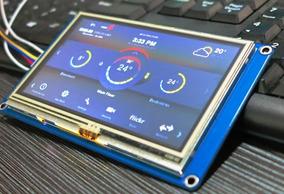 Pantalla Nextion Hmi Lcd Touch Tft Nx4832t035