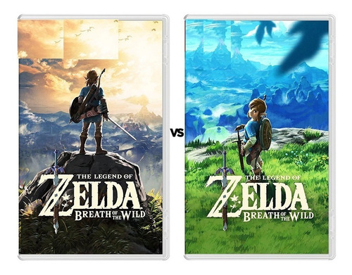 Nintendo Switch Juego Consola Game The Legend Of Zelda