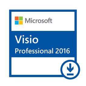 Microsoft Visio 2016 Professional 32/64 Bits - Digital