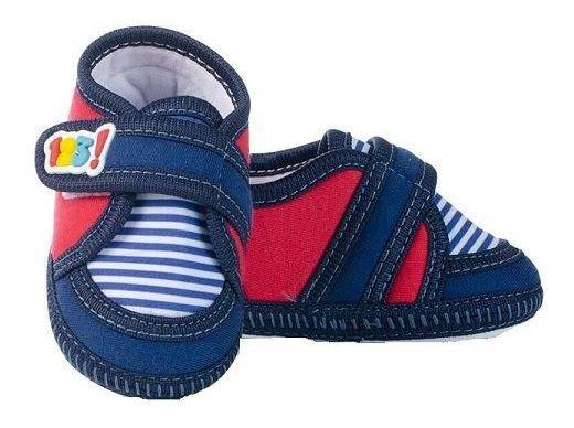 Tênis Keto Baby Masc. Velcro