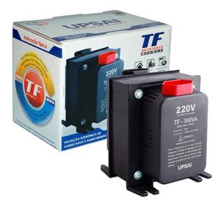 Auto Transformador Conversor Voltagem 300va Upsai 110v 220v ( Consulte Aparelho Antes Da Compra 210w Máximo )