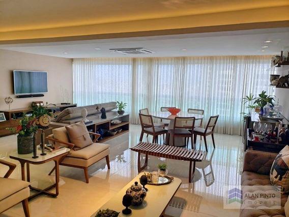 Apartamento Com 4 Dormitórios À Venda, 204 M² Por R$ 2.090.000,00 - Horto Florestal - Salvador/ba - Ap0379