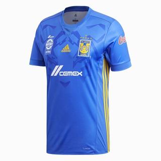 Playera Tigres Uanl adidas Visitante Azul