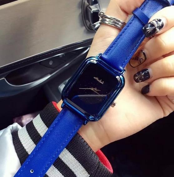 Relógio Feminino De Pulso Mashali 5258 Luxo Quartzo Promoção