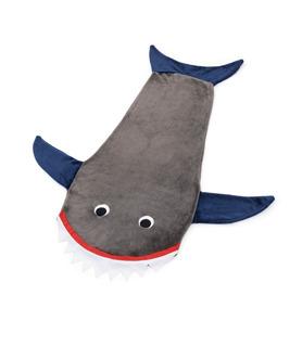 Cobertor Tubarão Soft Infantil Saco De Dormir 45x140 Cm
