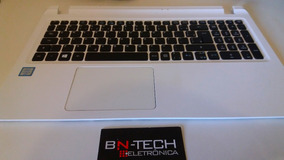 Teclado + Carcaça Acer Es1-572 Branca Seminova Original
