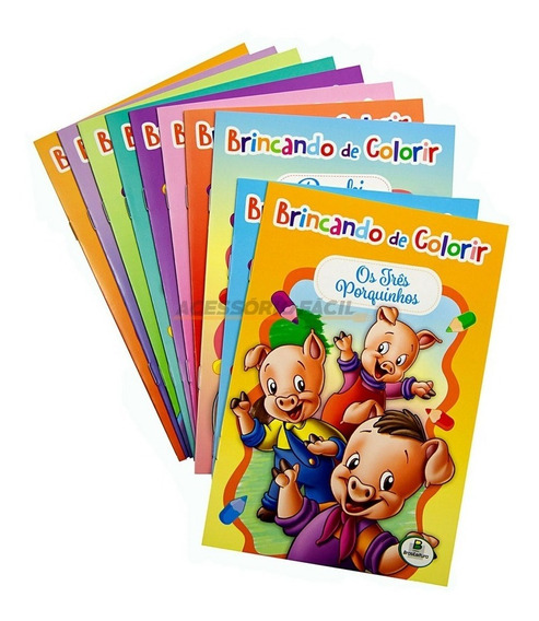 Brincando De Colorir Emb. Economica Brasileitura