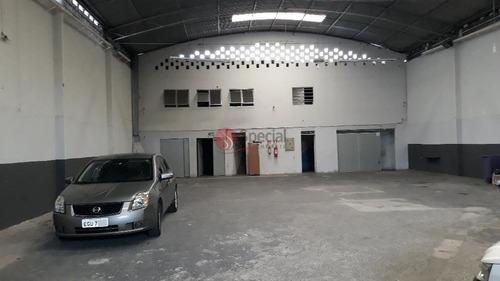 Galpão Comercial Vila Carrão, São Paulo - - Af15779