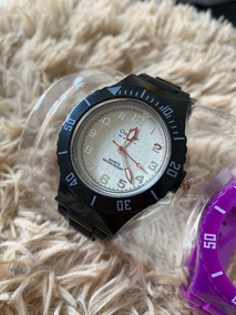 Relógio Unissex Lançamento Super Na Moda Troca Pulseira