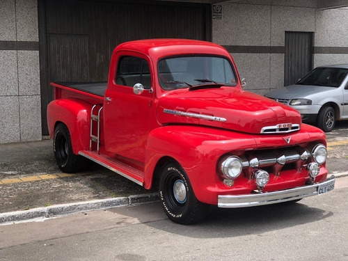 Ford - F-1 Pick-up Truck- Motor 6 Cilindros E Caixa 4 Marcha